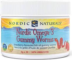 <b>Nordic</b> Naturals <b>Omega</b>-<b>3 gummy worms</b>, 1 Count: Amazon.ca ...