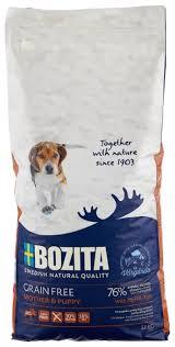 <b>Корм</b> для собак <b>Bozita Grain</b> Free Mother & Puppy Elk — купить по ...