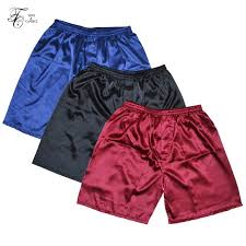 Online Shop <b>Tony&Candice</b> 3PCS/Lot <b>Men's Satin Silk</b> Boxers ...