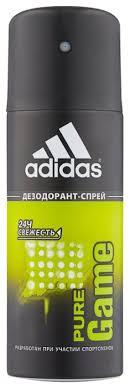 Купить <b>Дезодорант спрей Adidas</b> Pure Game, <b>150</b> мл по низкой ...