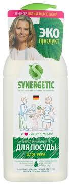 <b>Synergetic</b> Гель для <b>мытья</b> посуды Алоэ — купить по выгодной ...