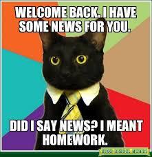 "back to school"" meme cat - Google Search | Teaching Memes ... via Relatably.com"