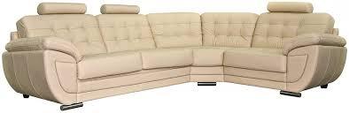 <b>Угловой диван</b> «<b>Редфорд</b>» (3мL/R901R/L) натуральная кожа ...