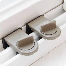 <b>1 set Zinc Alloy</b> Sliding Window Lock Key Push Child Safety ...