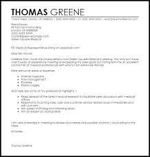 sales representative cover letter example medical cover letter in sales representative cover letter pharmaceutical sales rep cover letter