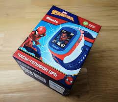 Обзор детских смарт-часов <b>Кнопка Жизни Aimoto</b> «Человек-паук ...
