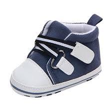 Voberry Toddler <b>Baby</b> Canvas Sneakers Striped <b>Cross</b>-<b>tied Anti</b>-<b>slip</b> ...