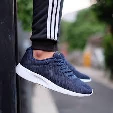 100% <b>ORIGINAL</b> LIMITED STOCK - <b>Nike Tanjun</b> Trainers Midnight ...
