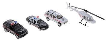 Набор машин <b>Welly Полиция</b> (98160-4A) — купить по выгодной ...