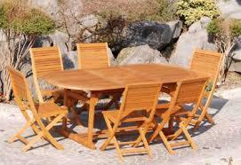 Tavolo Da Terrazzo In Legno : Tavoli da giardino in legno nsp mobili esterno ideare