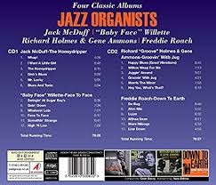 Jazz Organists - Four Classic Albums (The Honey Dripper / <b>Face</b> To ...