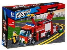 <b>Конструктор BONDIBON Пожарная</b> служба ВВ4049 Пожарная ...