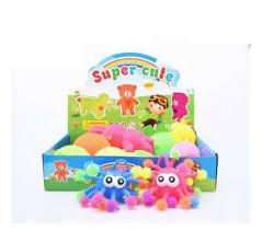 <b>Развивающая игрушка Junfa</b> антистресс <b>Мялка</b>-колючка Монстр ...