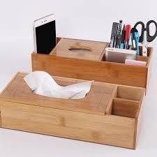 <b>European</b> Desk Organizer Box <b>Leather</b> Tissue Holder <b>Pen Case</b> 2 ...