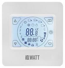 <b>Терморегулятор IQ Watt</b> Thermostat TS белый – купить в Москве в ...