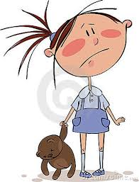 Image result for cartoon illustration of a sad woman