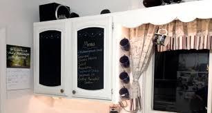 Kitchen Cabinet Makeover Diy Diy Kitchen Cabinet Makeover Chalkboard Paint Love My Diy Home