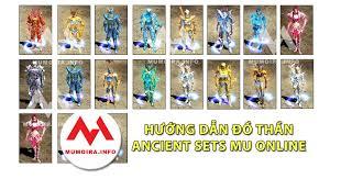 Hướng dẫn các loại Đồ Thần Thánh (Ancient) Mu Online - Mumoira.info