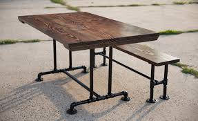 Industrial Style Kitchen Table 5ft Industrial Style Farmhouse Table Farmhouse Dining Table