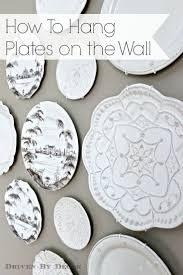home decor plate x: for months i kept my beautiful new plates sitting in a cabinet where they weren