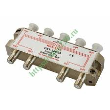Купить Делитель ТВ <b>Rexant</b> 8 выходов 5-2500 МГц под <b>F</b>-<b>разъём</b> ...