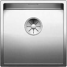 <b>Кухонная мойка Blanco CLARON</b> 400-U нерж. сталь зеркальная ...