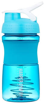 Купить <b>Шейкер Harper Gym</b> Shaker Bottle S19 0.5 л голубой по ...