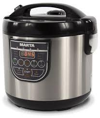 Купить <b>Мультиварка Marta MT-4323 GLASS</b> LID черный жемчуг по ...