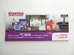 costcocouple costco 2015 coupon book 01 29 15 to 02 22 15