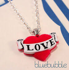 <b>Love Hearts Red Resin</b> Costume Necklaces & Pendants for sale ...