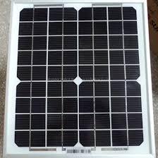 China Off Grid Monocrystalline <b>10W 18V Solar Module</b> Panel Cells ...