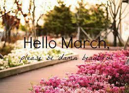 نتيجة بحث الصور عن hello march