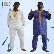 <b>H&D african</b> clothes for men dashiki fabric suits mens <b>bazin riche</b> ...