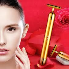 <b>24K Golden</b> Face <b>Beauty Bar</b> Facial Roller Treatment Massage ...