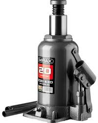 <b>Домкрат гидравлический бутылочный MIRAX</b> 43260-20, 20 т, 230 ...