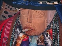 Image result for maximon mask santiago atitlan guatemala