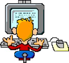 Risultati immagini per gif animate scuola COMPUTER