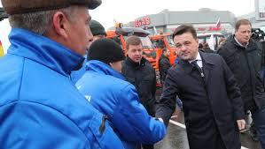 Воробьев вручил ключи от коммунальной техники главам 13 ...