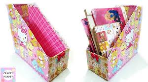 DIY <b>Desk</b> Organizer/DIY <b>Magazine Holder</b>/DIY <b>Book</b> Organizer ...