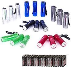 EverBrite 18-pack <b>Mini LED Flashlight</b> Set - <b>Portable</b> Flashlights ...