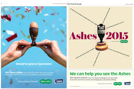 research and analysis on mobile and tablet advertising specsavers newspaper ad