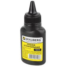 Купить <b>Краска штемпельная BRAUBERG</b>, черная, 45 мл, на ...