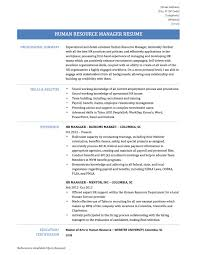hr manager resume templates office manager resume human resource management