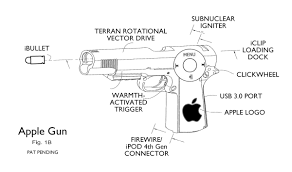 tom sloan fifty shade of grey cartoon exclusive apple to debut its apple gun smart firearm in 2016