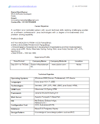 top 5 resume formats for freshers software engineer resume resume format for mca student