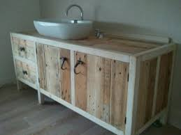 bathroom furniture realized with pallets bathroom furniture pallets