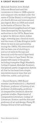 ums concert program 21 2015 abdullah ibrahim ekaya view uncorrected scanned text