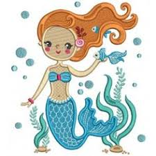 <b>1pc Mermaid Embroidery</b> Sew <b>Iron On Patch</b> Badge Applique Crafts ...