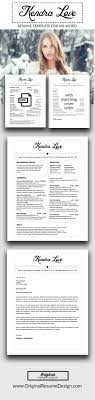 beautiful and elegant resume design for microsoft word includes a beautiful and elegant resume design for microsoft word includes a matching cover letter instant