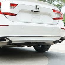 <b>lsrtw2017 stainless steel car</b> rear bumper trims for honda accord ...